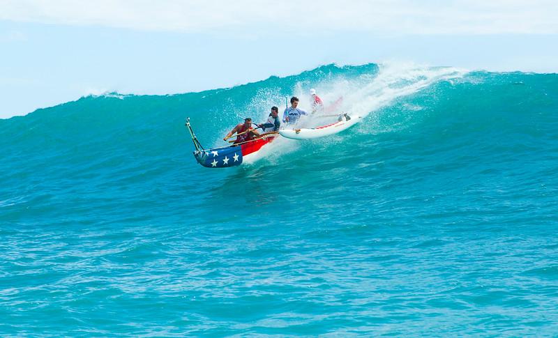 2011 Canoe Surfing