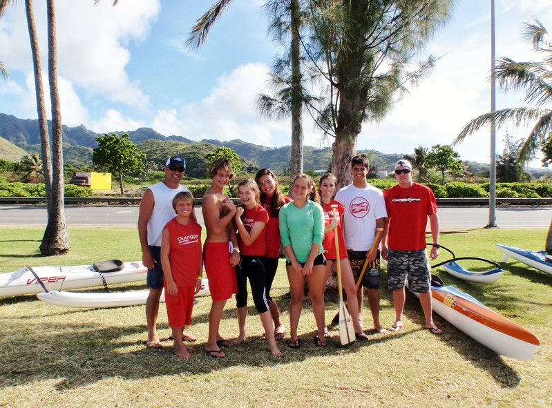 2011 Outrigger's Junior Kayakers