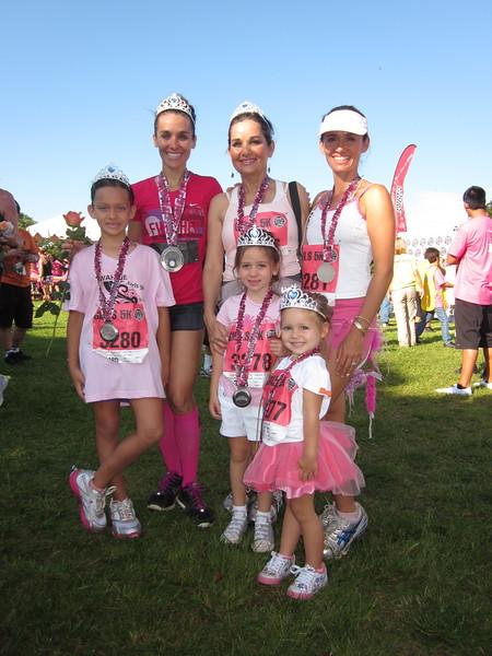 2011 Diva Wahine Half Marathon and Girls 5K 4-17-2011