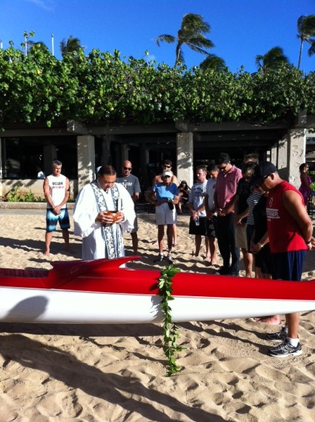 2012 Loli'i Canoe Blessing 8-17-2012