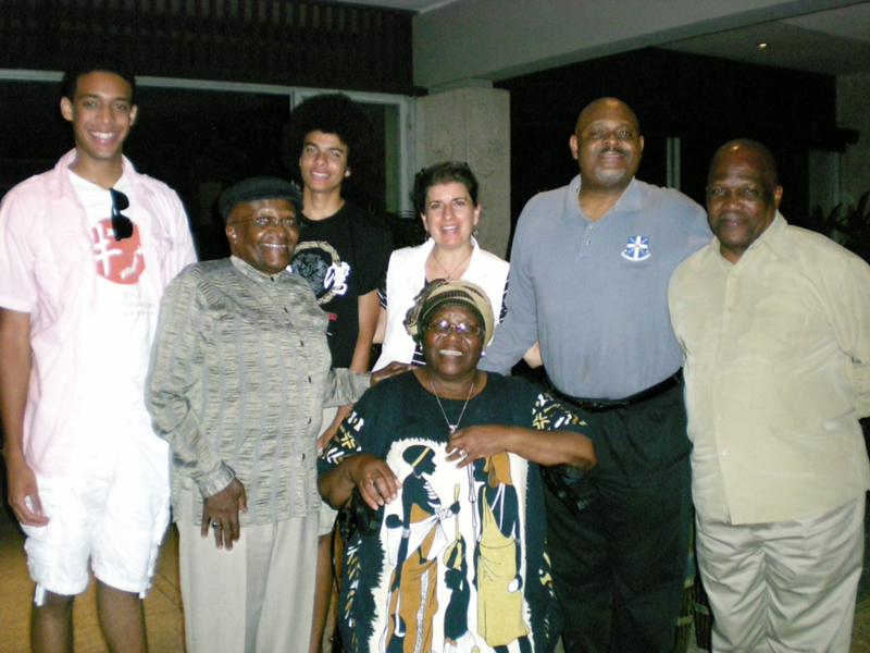 2012 Archbishop Desmond Tutu Visits the Outrigger