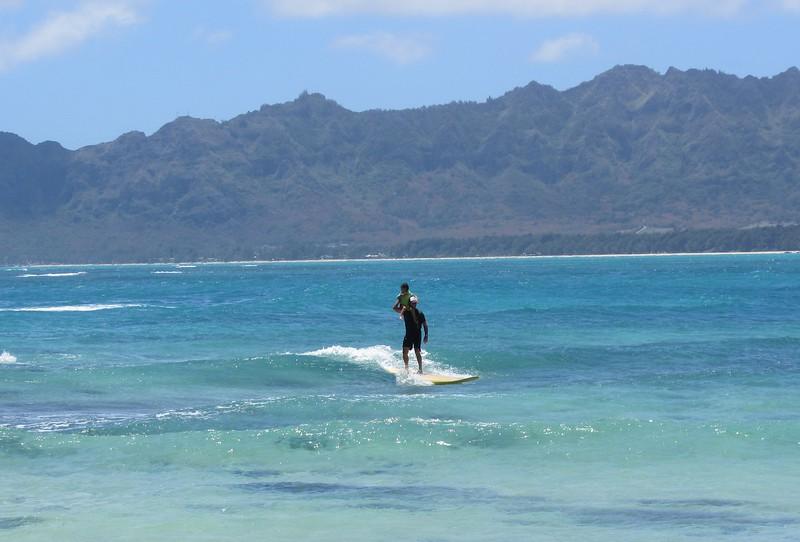2012 Surfing at Lanikai