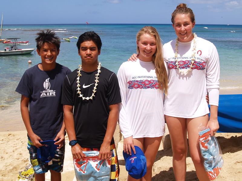 2013 OCC Invitational Swim
