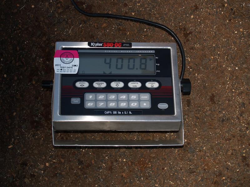 2013 Leilani Weighing & Waterlining