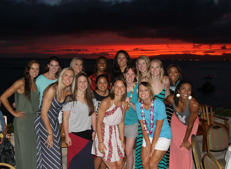 2014 USA and Brazil Women's National Volleyball Teams