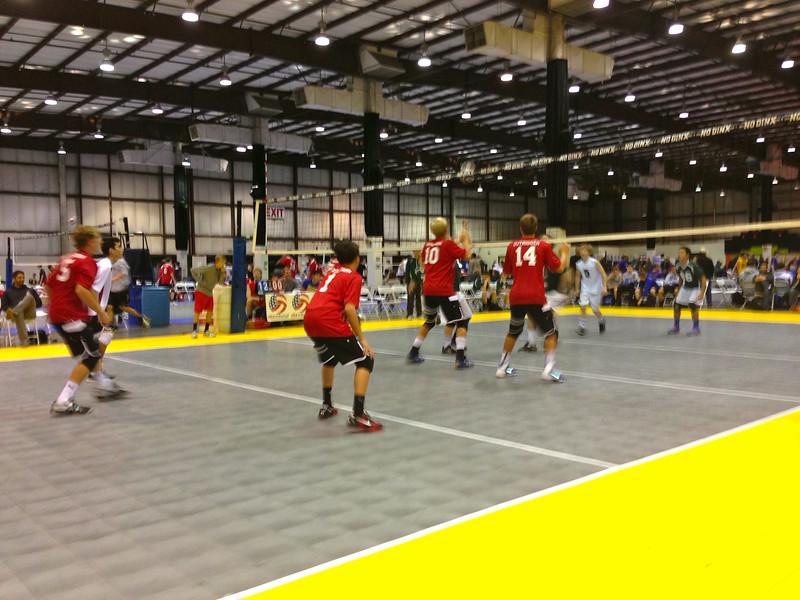 2014 NCVA Boys Bid Tournament 1-2014