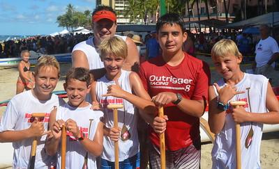 Outrigger Canoe Club 2014