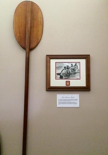 2015 Fred Hemmings' Steering Paddle