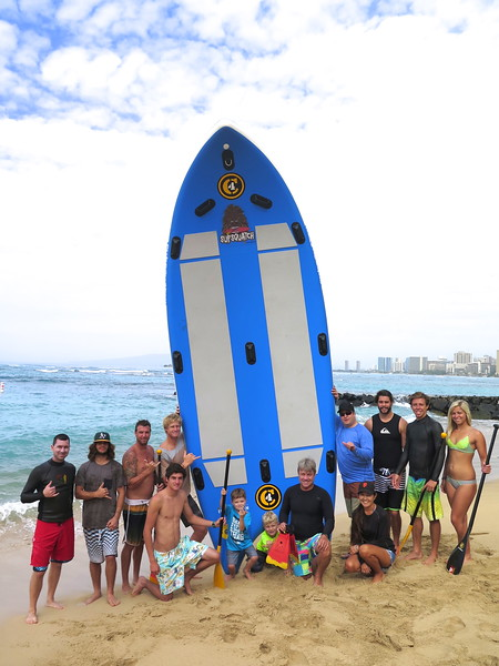 2015 SUPSquatch Surfing