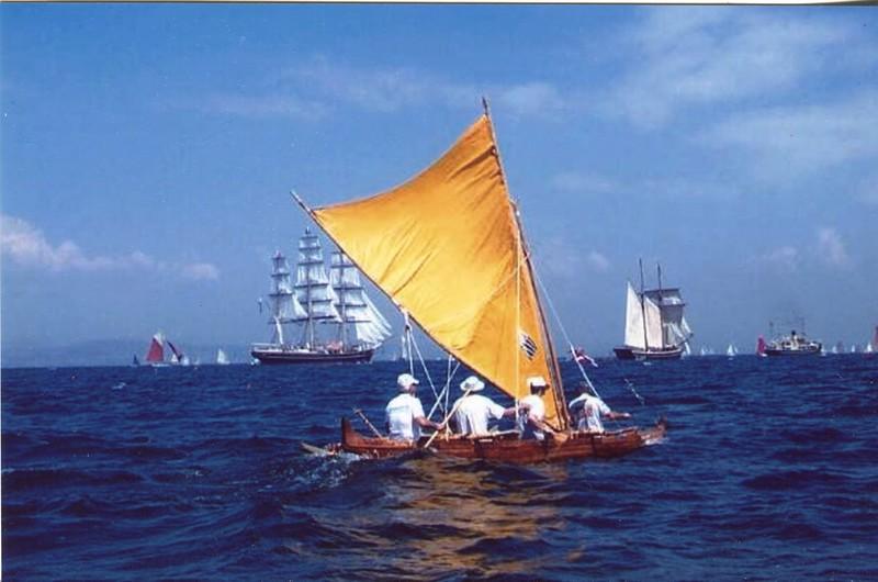 2015 4-Man Koa Sailing Canoe Kaukahi