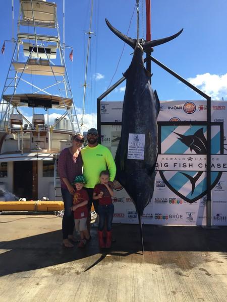 2015 Kewalo Basin Big Fish Chase Tournament