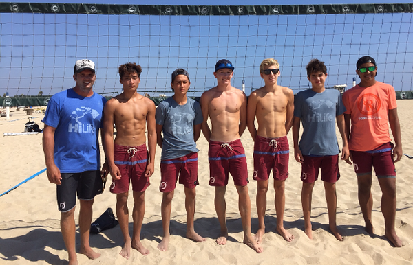 2015 AAU Huntington Beach 2-Man VB Tournament