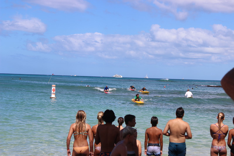 2015 Cline Mann Junior Relay Paddleboard Race