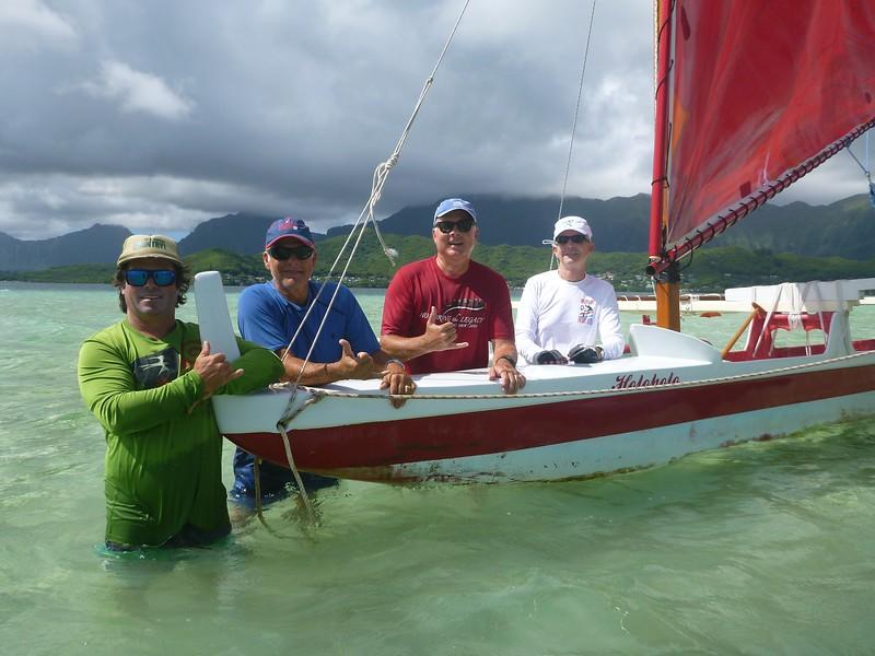 2016 Canoe Sailing