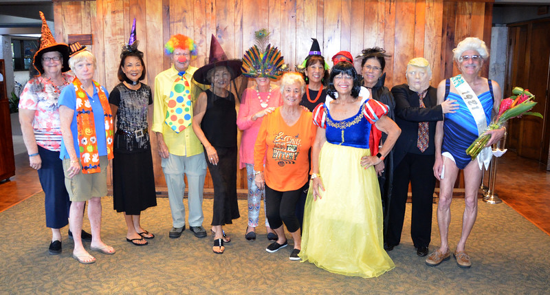 2016 Bridge Club Halloween Party