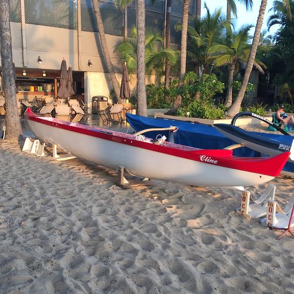 2016 Cline Surfing Canoe