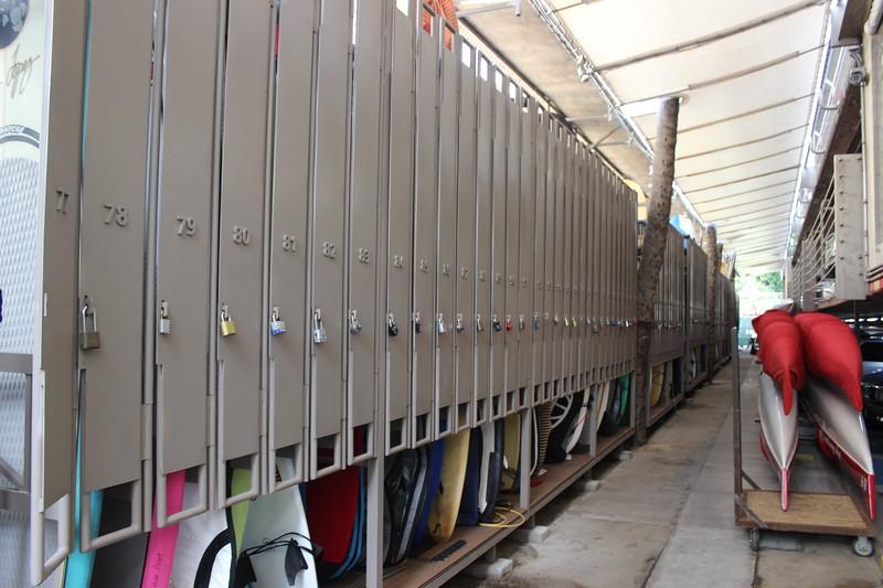 2016 New Surfboard Lockers