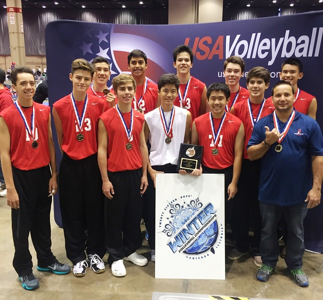2016 Boys Winter Volleyball Championships