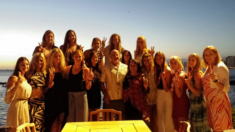 2016 USC Women's Volleyball Team