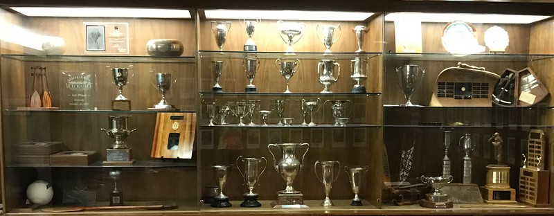 2017 Outrigger Board Room Trophy Case