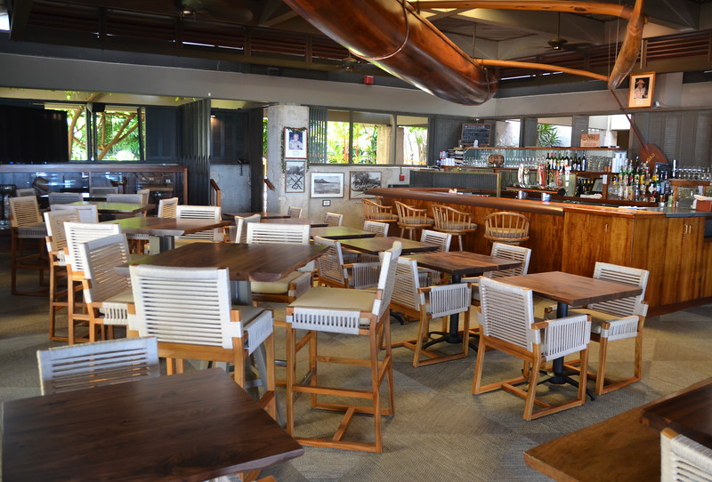 2017 New Ka Mo'i Boathouse Furniture