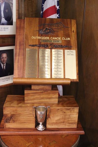 2018 Castle Swim Perpetual Trophy