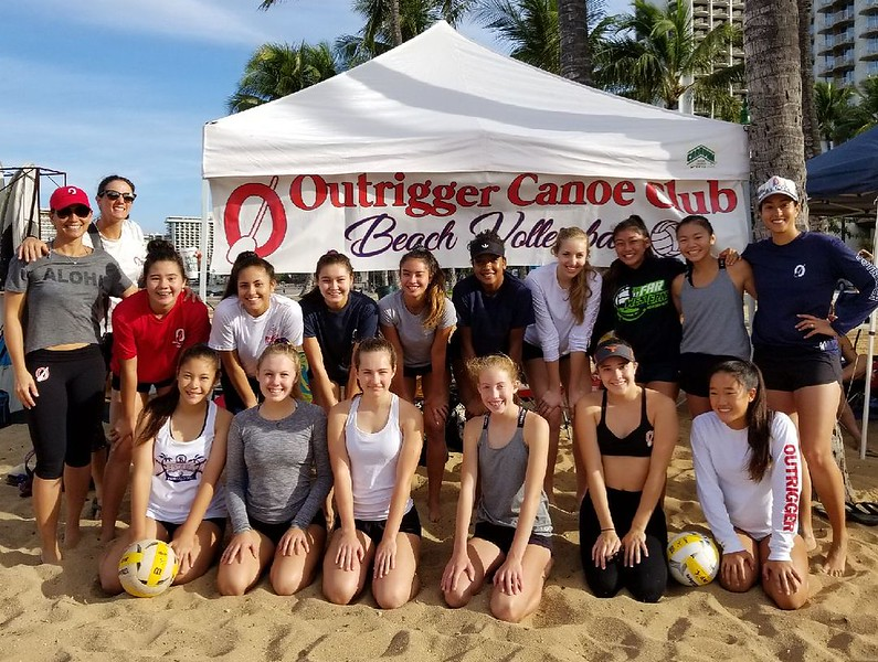 2018-04 AVPFirst Tournament Queens Beach
