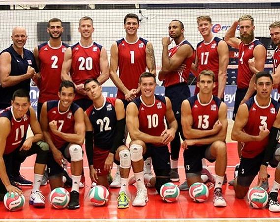 2018-07 TUSA  National VB Team