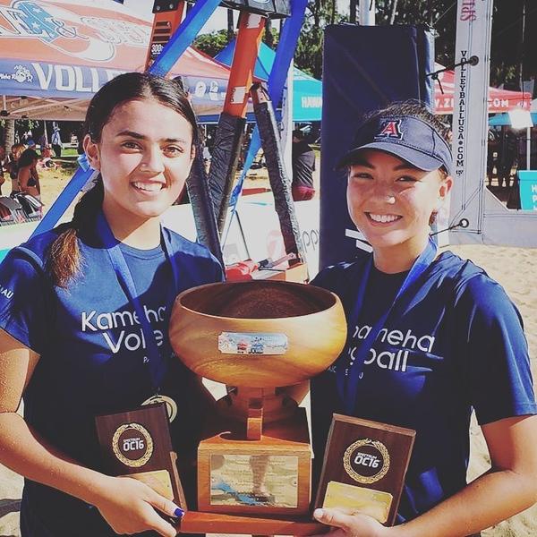 2018-011 Hawaii Beach VB Prep State Championships