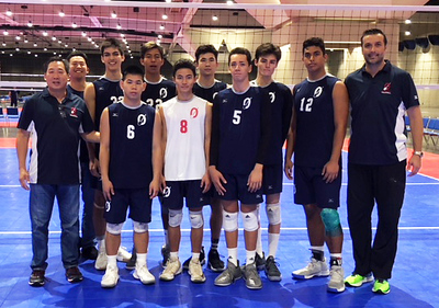 2018 Outrigger Boys 18's Volleyball Team