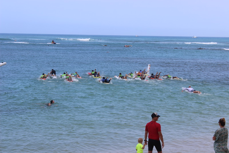Combined Age Divisions Start