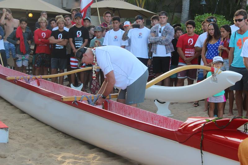 2018 Waikiki Canoe Blessing