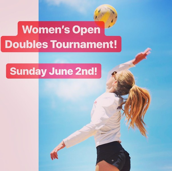 2019-06-02 Women's Open Doubles Tournament