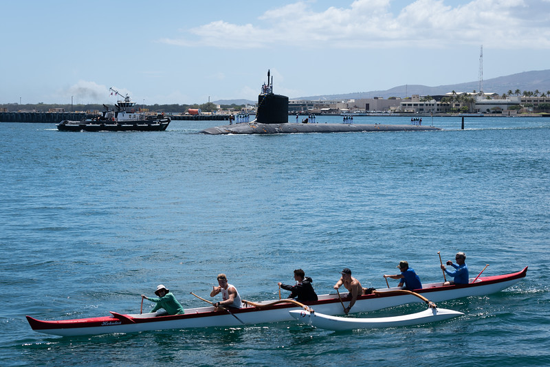 2019 OCC Welcomes Sub Back to Pearl Harbor