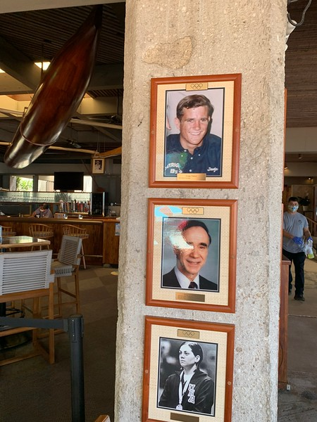 2020 Outrigger Olympian Photo Display
