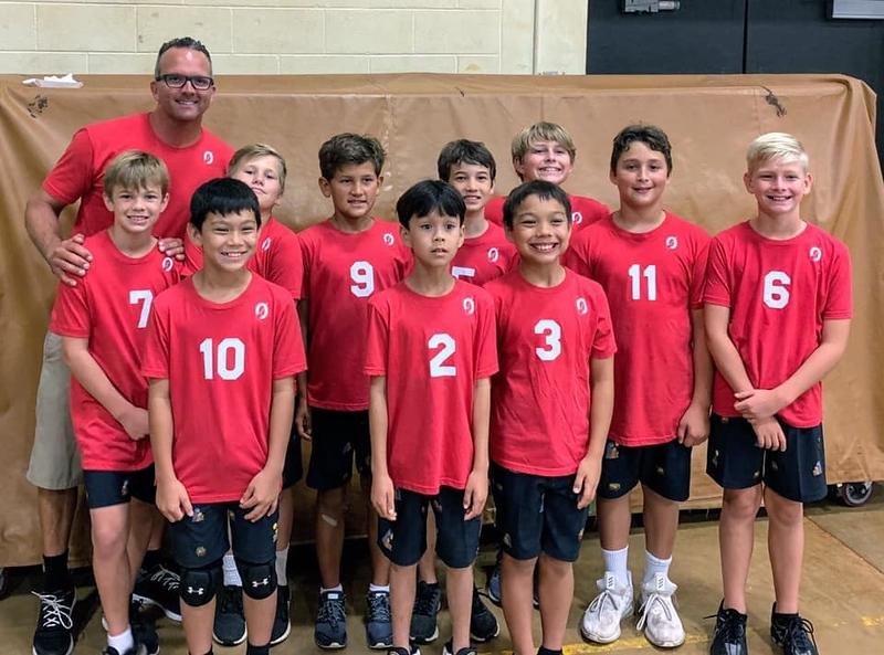 2020 OCC Boys 12 Volleyball Team
