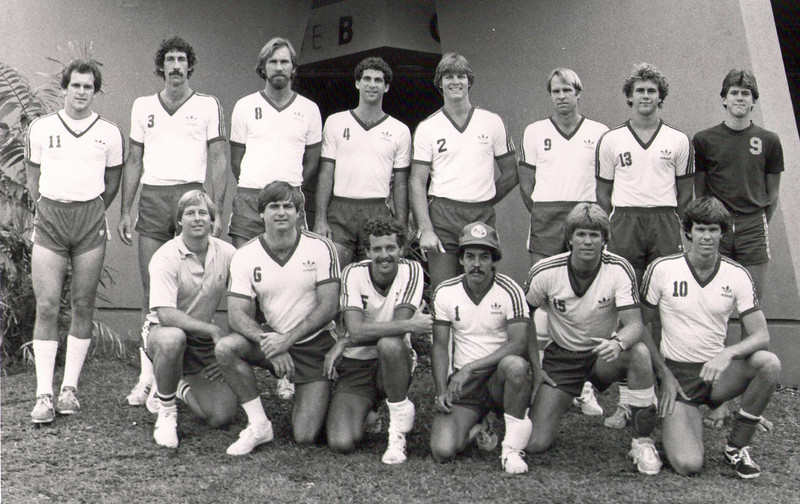 1982 Outrigger Canoe Club Volleyball Team