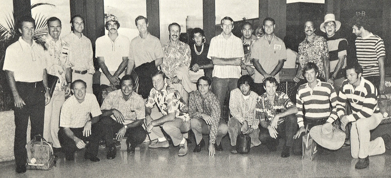 1973 Outrigger Canoe Club Volleyball Teams