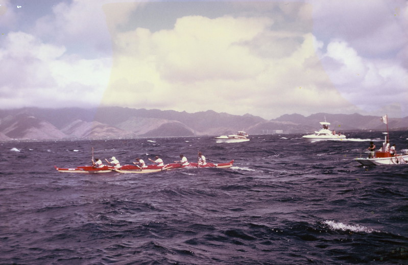 1977 Molokai to Oahu Canoe Race