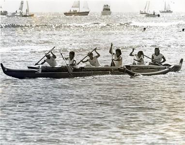 1979 Na Wahine O Ke Kai Canoe Race