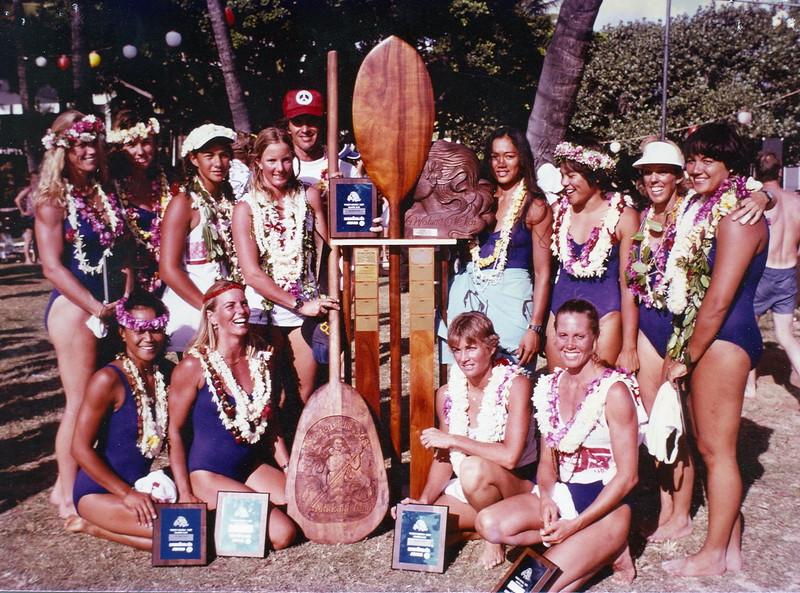 1981 Na Wahine O Ke Kai Champions