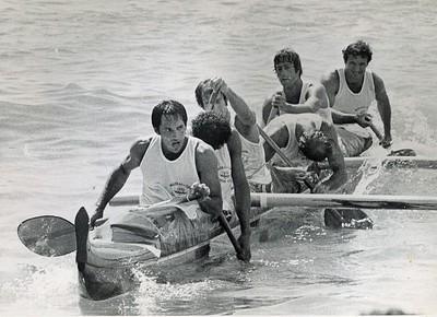 1975 Molokai Hoe Canoe Race