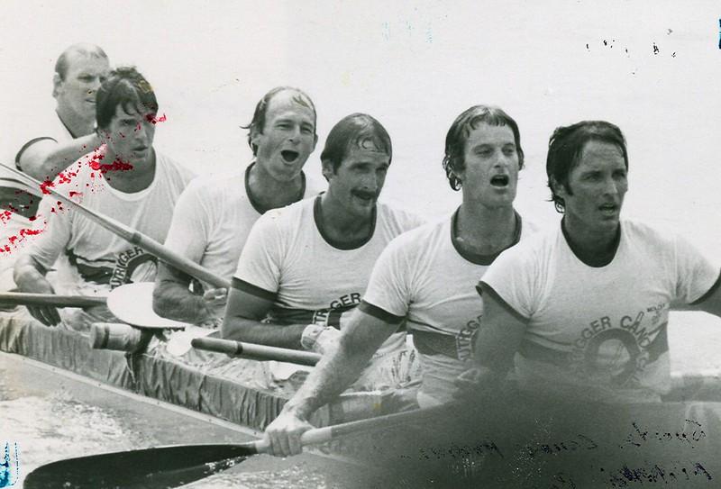 1979 Molokai Hoe Canoe Race Champions