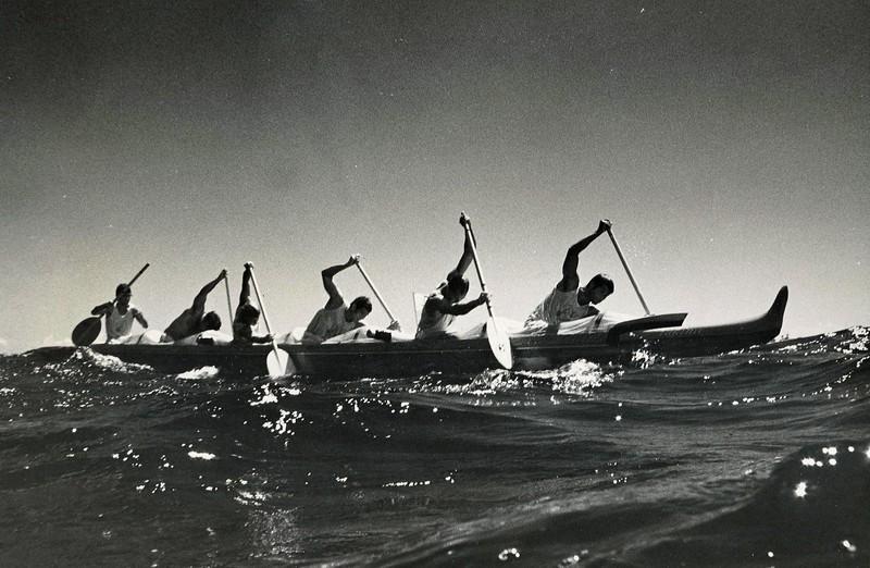 1972 Molokai to Oahu Canoe Race