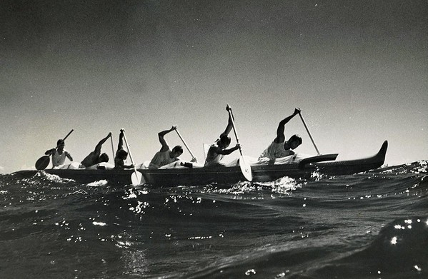 1972 Molokai to Oahu Canoe Race