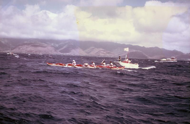 1977 Molokai to Oahu Canoe Race