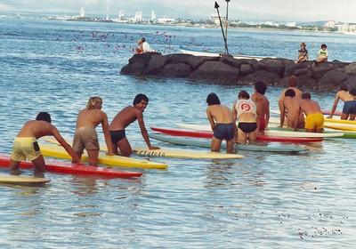 1979 Waikiki Ocean 10K Paddleboard Race