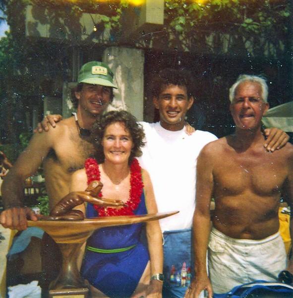 1982 Waikiki Ocean 10K Paddleboard Race