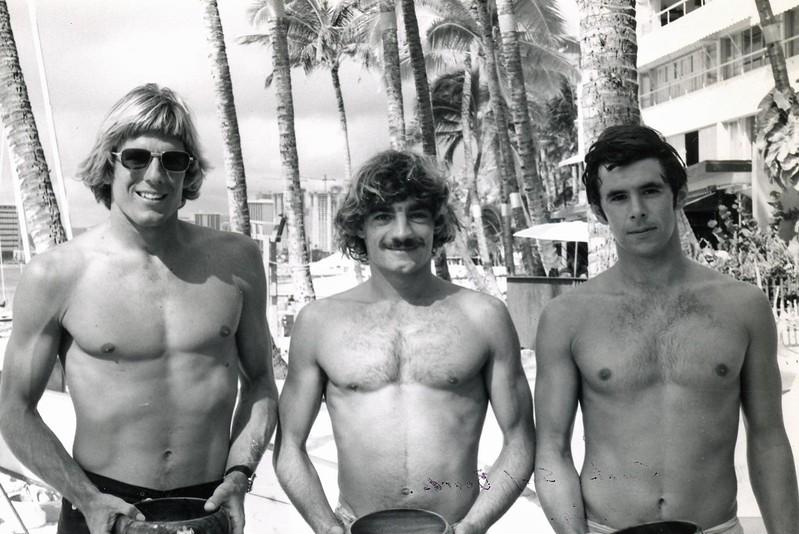 1975 Diamond Head Buoy Paddleboard Race