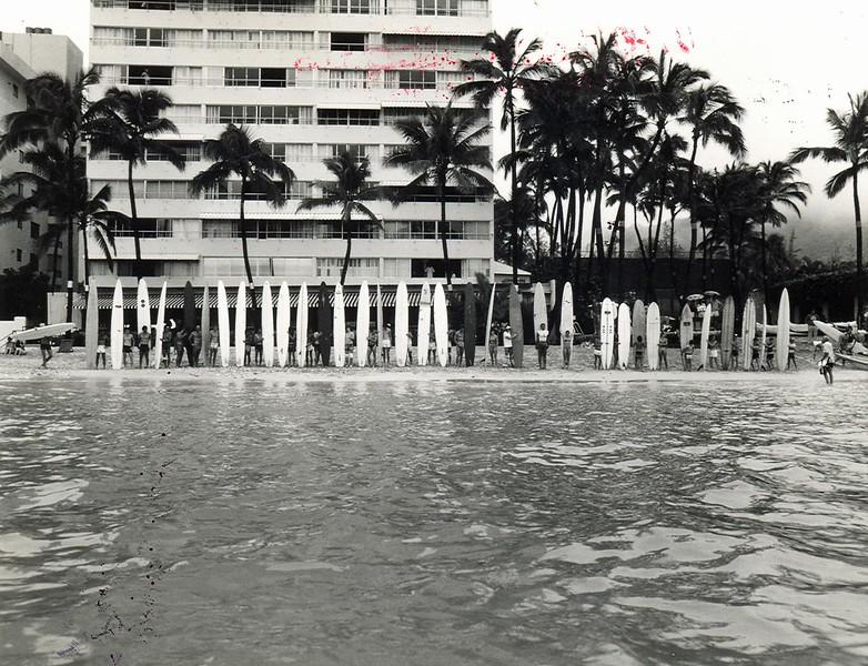 1981 Waikiki Ocean 10K Paddleboard Race